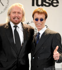 Bee Gees' Barry and Robin Gibb