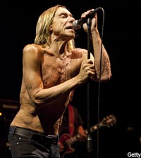 Iggy Pop, the Stooges