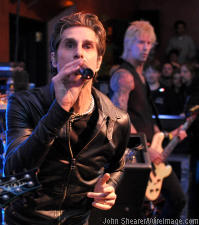 Jane's Addction's Perry Farrell and Duff McKagan