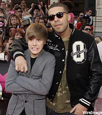 Justin Bieber, Drake