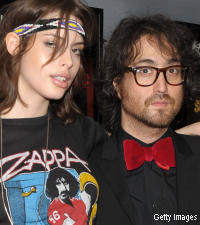 Charlotte Kemp-Muhl and Sean Lennon