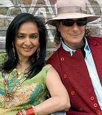 Najma Akhtar and Gary Lucas