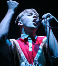 The Drums' Jonathan Pierce