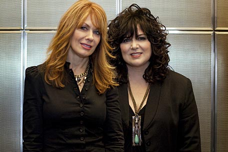 Heart's Nancy and Ann Wilson
