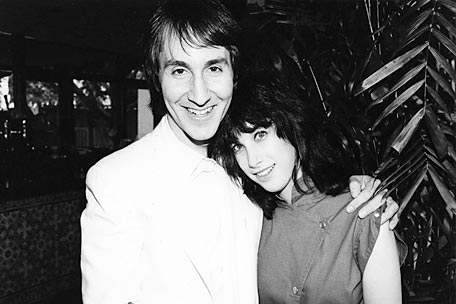 Doug Fieger and Sharona Alperin