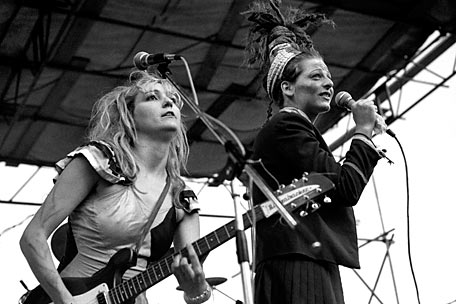 Viv Albertine and Ari Up