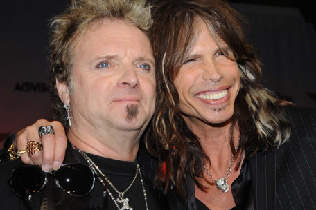 Aerosmith's Joey Kramer and Steven Tyler