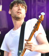 Blur's Alex James