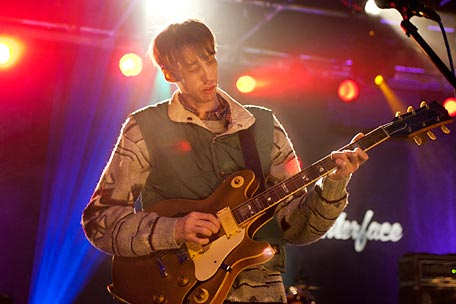 Bradford Cox of the band Deerhunter