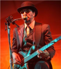 Les Claypool performs at Bonnaroo