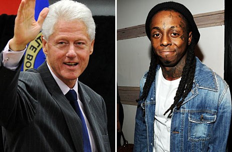 Bill Clinton Wishes Lil Wayne a Good Life