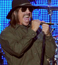 Red Hot Chili Peppers' Anthony Kiedis