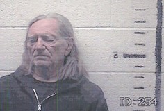 Willie Nelson (mug shot)