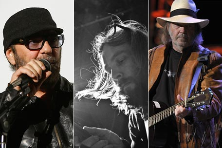 Daniel Lanois, Adam Vollick, Neil Young