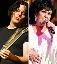 Jack White Wanda Jackson