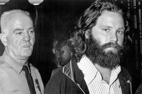 Jim Morrison heads to court