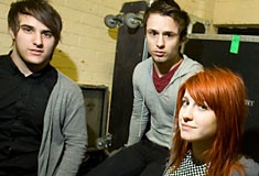 Zac Farro Josh Farro Hayley Williams