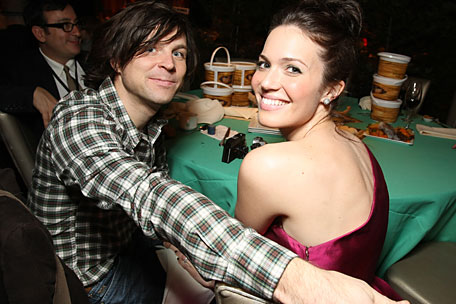 Ryan Adams and Mandy Moore