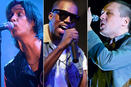 The Strokes Kanye West Arcade Fire