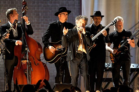 Bob Dylan, Mumford and Sons, Avett Brothers at 2011 Grammy Awards