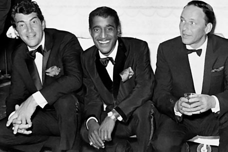 The Rat Pack: Dean Martin, Sammy Davis Jr., Frank Sinatra