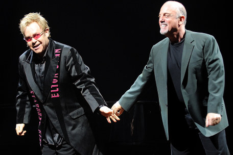 Elton John and Billy Joel