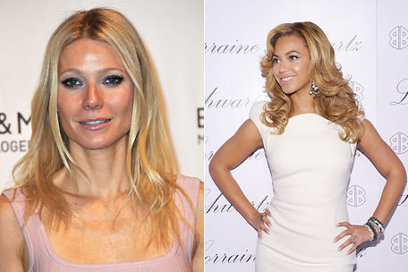 Gwyneth Paltrow, Beyonce