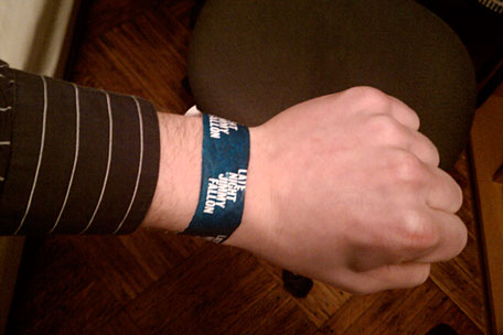 'Jimmy Fallon' Wristband