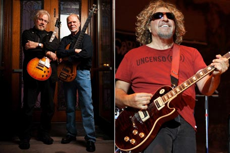 Randy Bachman, Fred Turner, Sammy Hagar