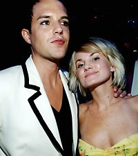 Brandon Flowers and wife Tana