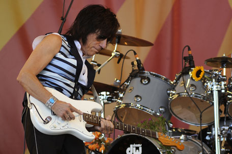 jeff beck new orleans jazz fest 2011