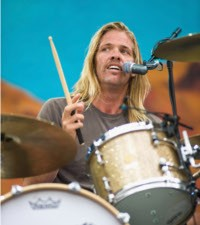 Taylor Hawkins of Foo Fighters