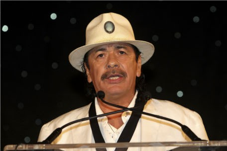 Carlos Santana at MLB's Civil Rights Game 2011