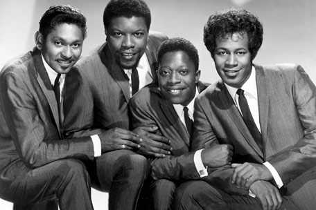 The Coasters with Carl Gardner (left)