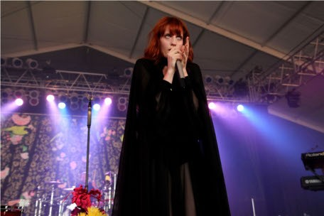 Florence Welsh and the Machine at Bonnaroo 2011