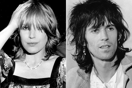 Marianne Faithful, Keith Richards