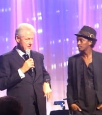 Bill Clinton, K'Naan