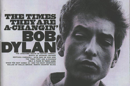 Bob Dylan Times Are A Changin album