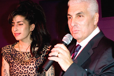 Amy and Mitch Winehouse