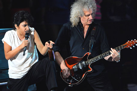 Lady Gaga and Brian May