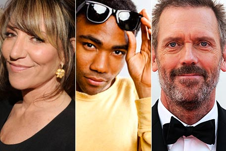 Katey Sagal, Donald Glover, Hugh Laurie