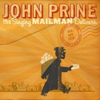 John Prine's 'The Singing Mailman Delivers' Album Cover