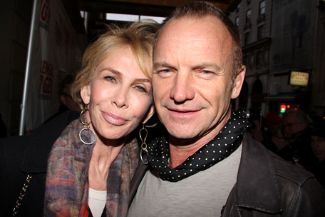 Trudie and Sting