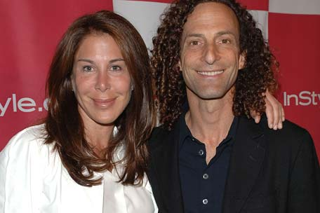 Kenny G and Wife