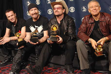 U2 Grammy Awards