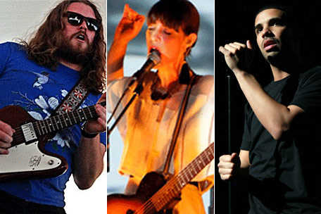 Juno Award winners Sheepdogs, Feist and Drake