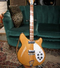 Tom Petty's Blonde Rickenbacker