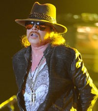 Axl Rose robbed