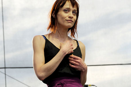 Fiona Apple at Governor's Ball