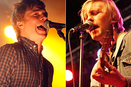 Nada Surf's Matthew Caws and WATERS' Van Pierszalowski